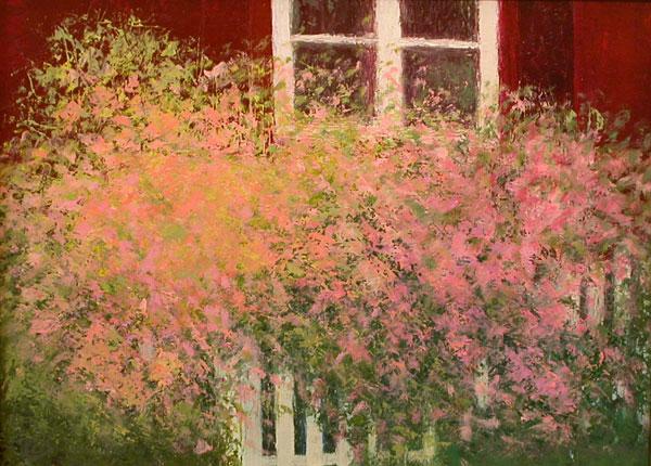 Pink Roses by Justina Selinger