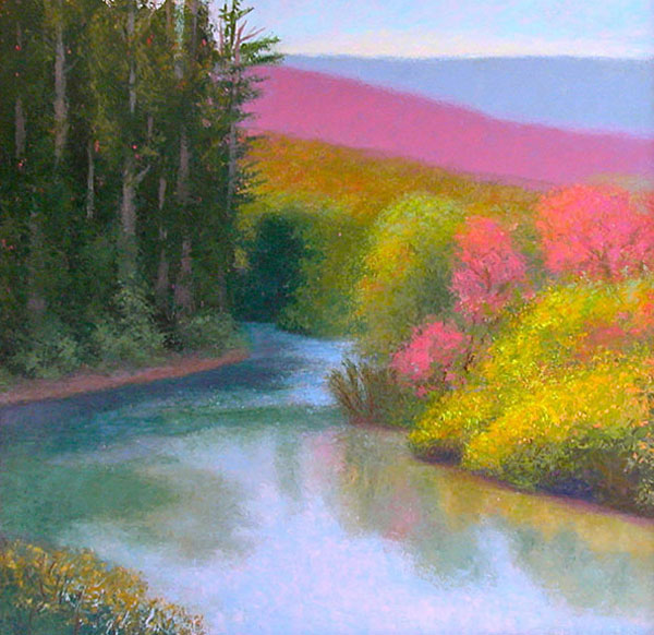 Russian River III by Justina Selinger