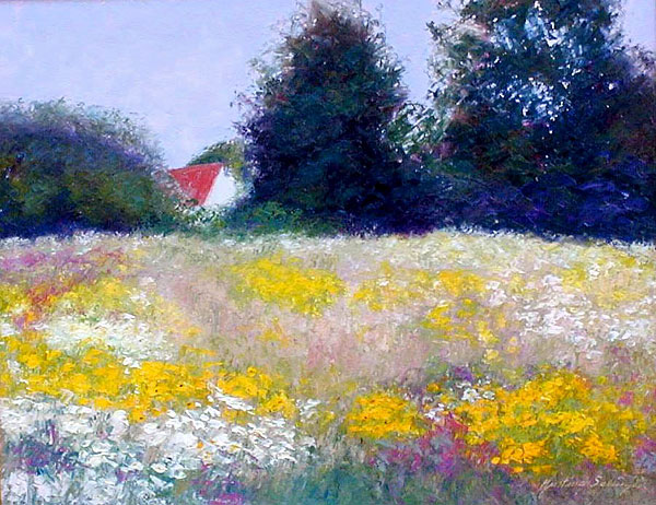 Wildflower Meadow by Justina Selinger