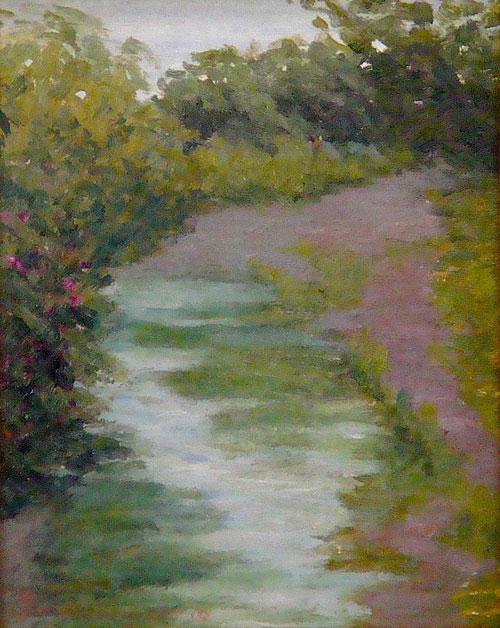 Hidden Creek  8 x 10