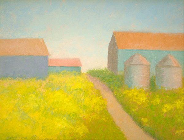 Mustard Field I 11x14