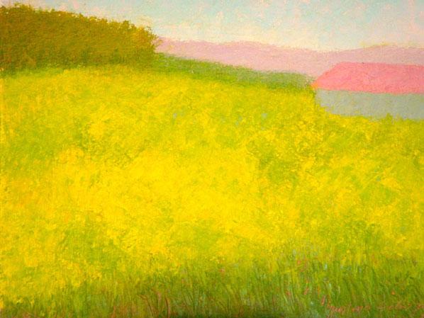 Mustard Field II 11 x 14