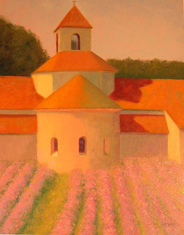 L'Abbaye de Senanque 30x24
