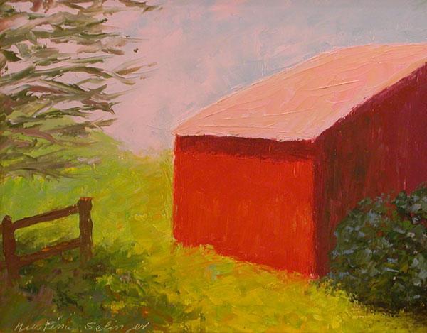 Bellow's Barn 8x10