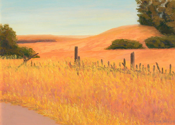 Fence on Marsh Road 18x24