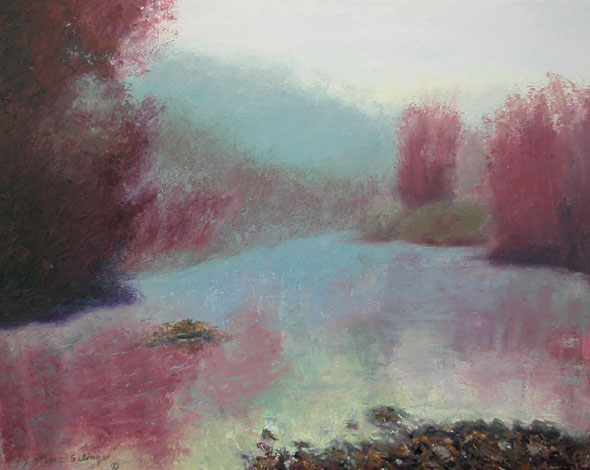 Fog on the Russian River 24x30