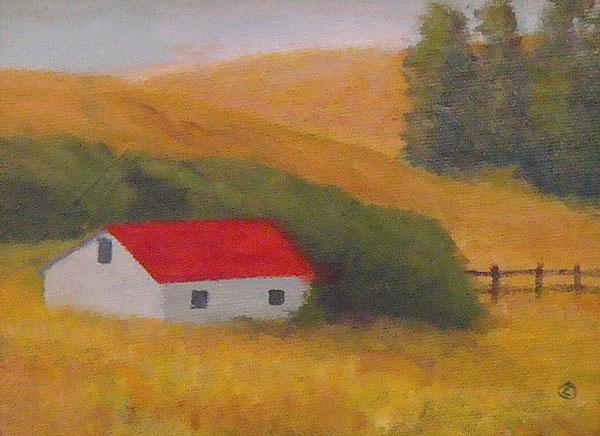 Gray Barn 6 x 8