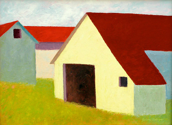 Marsh Road Barn 18x24