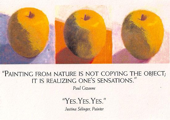 Cezanne Postcard