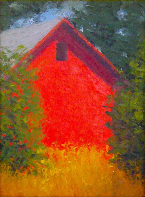 Red Barn 8 x 6