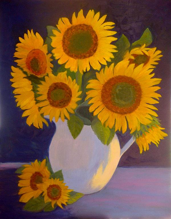 Sunflowers II    28x22