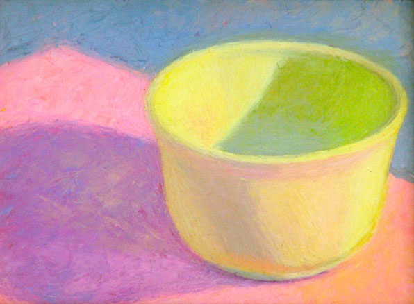 Yellow Bowl   6x8