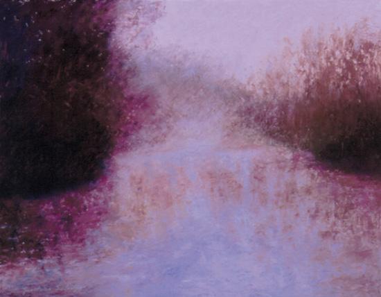 """River Fog"" 16 x 20 Oil on Board"